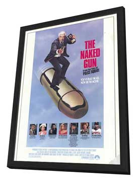 The Naked Gun: From the Files of Police Squad - 11 x 17 Movie Poster - Style A - in Deluxe Wood Frame