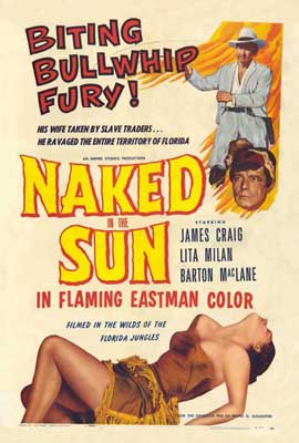 Naked in the Sun - 27 x 40 Movie Poster - Style A