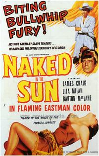 Naked in the Sun - 43 x 62 Movie Poster - Bus Shelter Style A