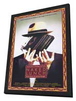 Naked Lunch - 27 x 40 Movie Poster - Style A - in Deluxe Wood Frame