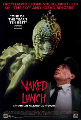 Naked Lunch - 27 x 40 Movie Poster - Style B