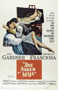 The Naked Maja - 11 x 17 Movie Poster - Style A