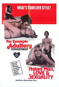 Naked Man, Love and Sexuality - 11 x 17 Movie Poster - Style A