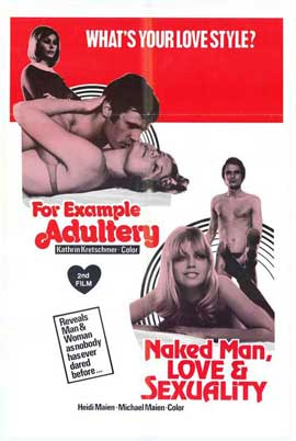 Naked Man, Love and Sexuality - 27 x 40 Movie Poster - Style A