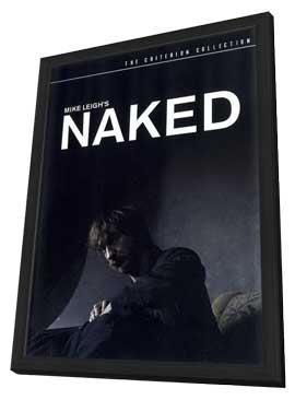 Naked - 11 x 17 Movie Poster - Style B - in Deluxe Wood Frame