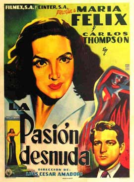 Naked Passion - 11 x 17 Movie Poster - Spanish Style A