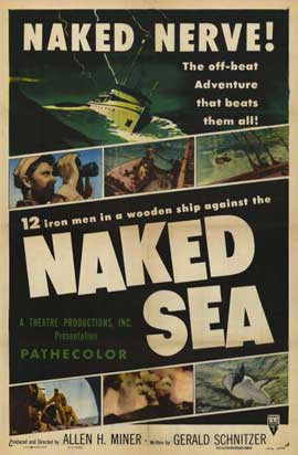 Naked Sea - 11 x 17 Movie Poster - Style A