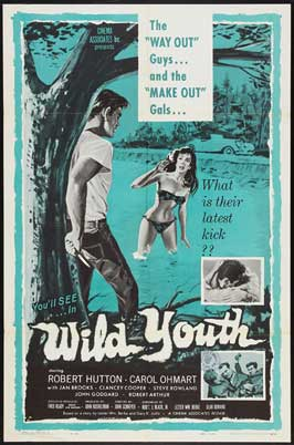 Naked Youth - 11 x 17 Movie Poster - Style B