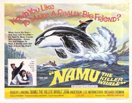 Namu, the Killer Whale - 11 x 14 Movie Poster - Style A