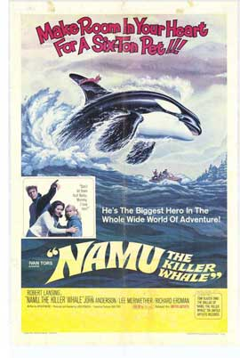 Namu, the Killer Whale - 27 x 40 Movie Poster - Style A