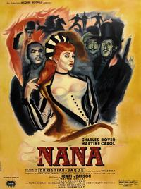 Nana - 27 x 40 Movie Poster - French Style A
