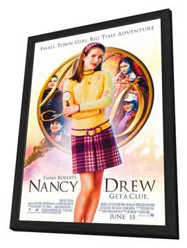 Nancy Drew - 11 x 17 Movie Poster - Style A - in Deluxe Wood Frame