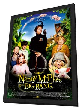 Nanny McPhee and the Big Bang - 11 x 17 Movie Poster - French Style A - in Deluxe Wood Frame