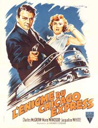 The Narrow Margin - 11 x 17 Movie Poster - French Style A