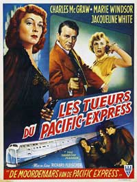 The Narrow Margin - 11 x 17 Movie Poster - Belgian Style A