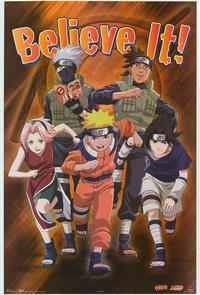 Naruto - Family Poster - 22 x 34 - Style B