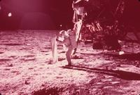 NASA-Apollo 11 Moon Walk - 8 x 10 Color Photo #10