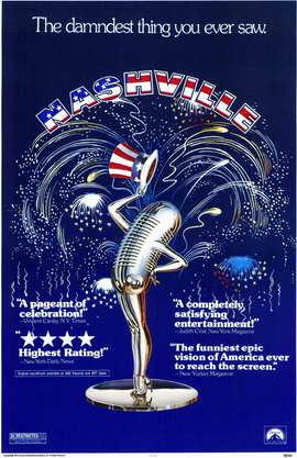 Nashville - 11 x 17 Movie Poster - Style A