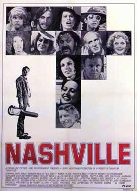 Nashville - 11 x 17 Movie Poster - Style B