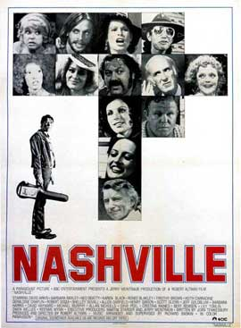 Nashville - 27 x 40 Movie Poster - Style B