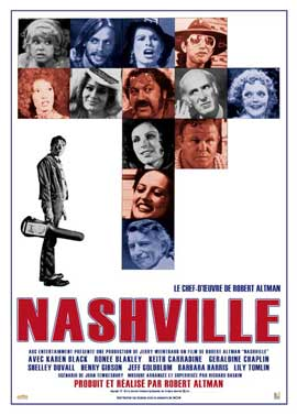 Nashville - 27 x 40 Movie Poster - French Style A