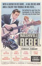 Nashville Rebel - 11 x 17 Movie Poster - Style A