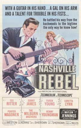 Nashville Rebel - 11 x 17 Movie Poster - Style A