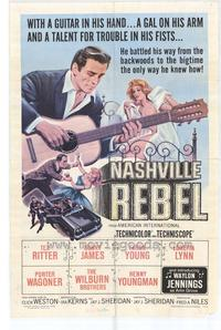 Nashville Rebel - 43 x 62 Movie Poster - Bus Shelter Style A