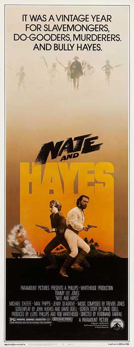 Nate and Hayes - 14 x 36 Movie Poster - Insert Style A