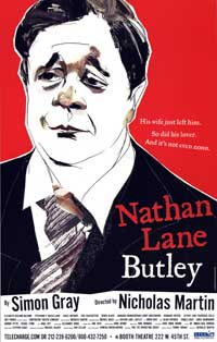 Nathan Lane Butley (Broadway) - 11 x 17 Poster - Style A