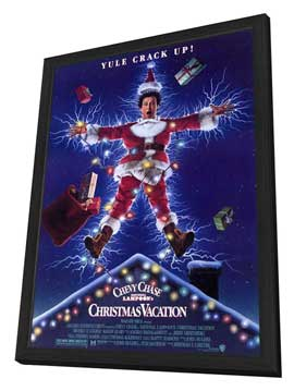 National Lampoon's Christmas Vacation - 11 x 17 Movie Poster - Style A - in Deluxe Wood Frame
