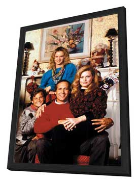 National Lampoon's Christmas Vacation - 11 x 17 Movie Poster - Style B - in Deluxe Wood Frame
