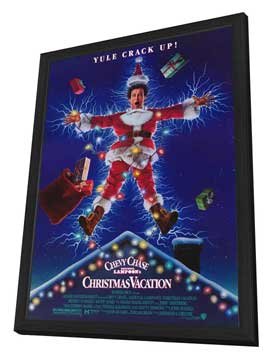 National Lampoon's Christmas Vacation - 27 x 40 Movie Poster - Style A - in Deluxe Wood Frame