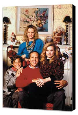National Lampoon's Christmas Vacation - 11 x 17 Movie Poster - Style B - Museum Wrapped Canvas
