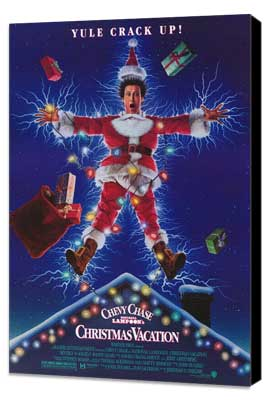 National Lampoon's Christmas Vacation - 27 x 40 Movie Poster - Style A - Museum Wrapped Canvas