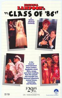 National Lampoon's Class of '86 - 27 x 40 Movie Poster - Style A