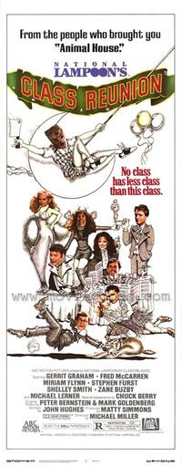 National Lampoon's Class Reunion - 14 x 36 Movie Poster - Insert Style A