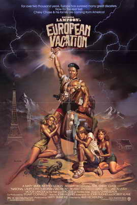 National Lampoon's European Vacation - 11 x 17 Movie Poster - Style A