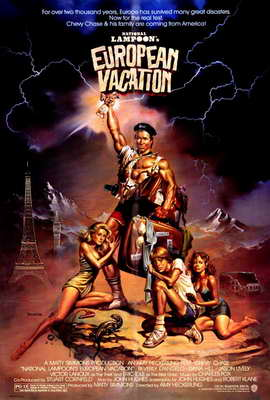 National Lampoon's European Vacation - 27 x 40 Movie Poster - Style A