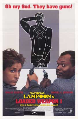 National Lampoon's Loaded Weapon 1 - 11 x 17 Movie Poster - Style A