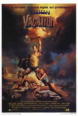 National Lampoon's Vacation - 27 x 40 Movie Poster - Italian Style A