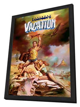 National Lampoon's Vacation - 27 x 40 Movie Poster - Style A - in Deluxe Wood Frame