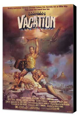 National Lampoon's Vacation - 11 x 17 Movie Poster - Style B - Museum Wrapped Canvas