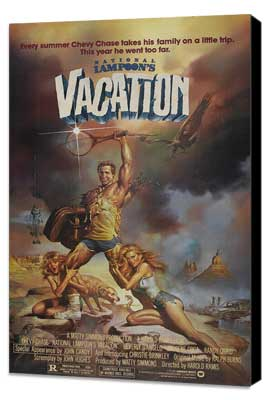 National Lampoon's Vacation - 27 x 40 Movie Poster - Style B - Museum Wrapped Canvas