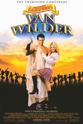 National Lampoon's Van Wilder - 27 x 40 Movie Poster - Style A