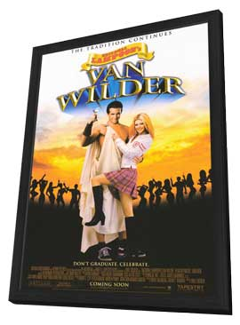 National Lampoon's Van Wilder - 27 x 40 Movie Poster - Style A - in Deluxe Wood Frame