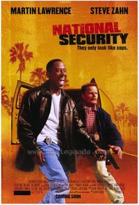 National Security - 27 x 40 Movie Poster - Style A