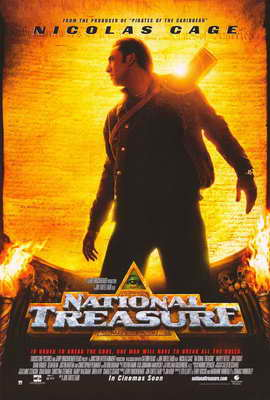 National Treasure - 27 x 40 Movie Poster