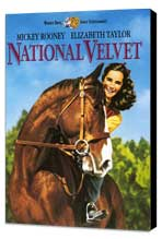 National Velvet - 27 x 40 Movie Poster - Style A - Museum Wrapped Canvas
