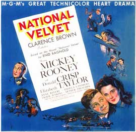 National Velvet - 11 x 14 Movie Poster - Style B